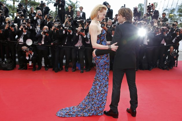 Jury member actress Nicole Kidman and her husband Keith Urban arrive for the screening of the film &quot;Inside Llewyn Davis&quot; in competition during the 66th Cannes Film Festival