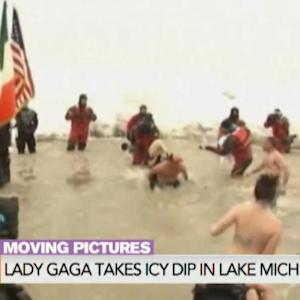 Lady Gaga Takes the Plunge for The Special Olympics