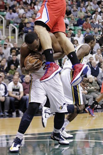 Griffin scores 30, Clippers beat Jazz 105-104