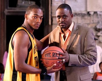 Anthony Mackie and Wayne Brady in Tristar's Crossover