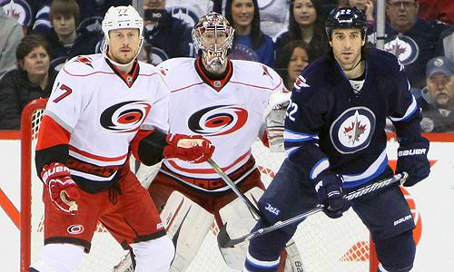 NHL: Carolina Hurricanes vs. Winnipeg Jets
