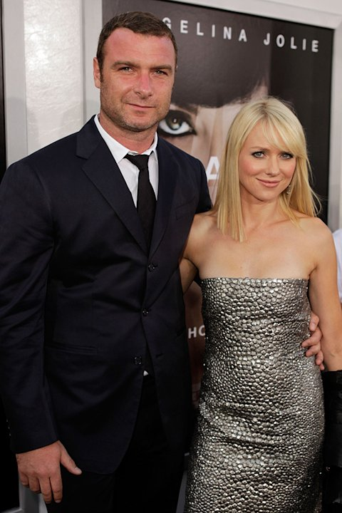 Salt LA Premiere 2010 Naomi Watts Liev Schreiber