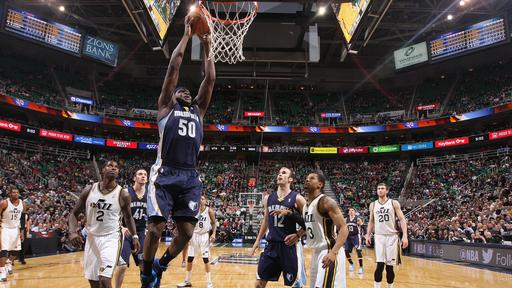 Randolph lifts Grizzlies to 91-87 win over Jazz