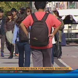 SDSU welcomes students back for spring semester