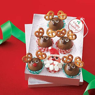 Santa and Reindeer Truffles