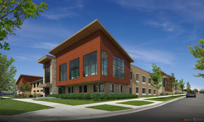 Sojourner Family Peace Center opening in 2016.