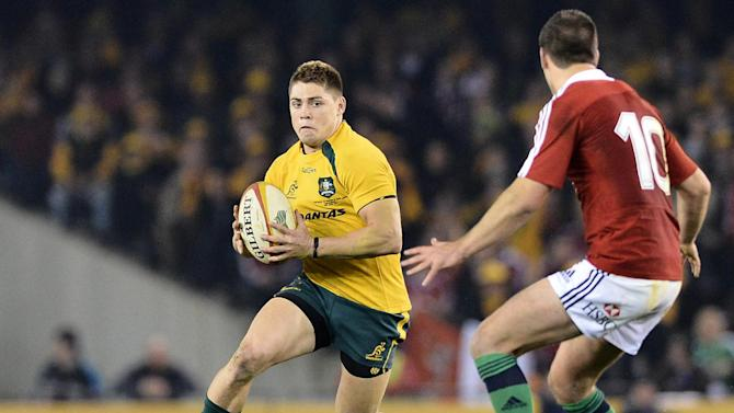Australia's James O'Connor during the second rugby test against the British and Irish Lions in Melbourne on June 29, 2013