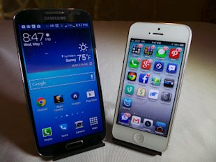 Samsung Galaxy S4 vs Apple iPhone 5 Which Is Faster Better Benchmark? image 20130501 2047271