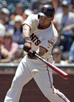 Ex-Giants outfielder Melky Cabrera was suspended 50 games last season for PED use. (AP)
