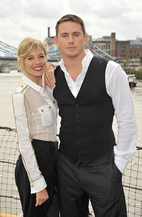 GI Joe Berlin Photocall 2009 Sienna Miller Channing Tatum