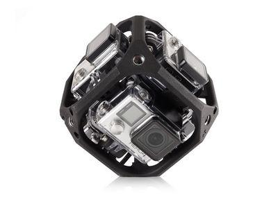 GoPro is building a spherical camera mount to enter the virtual reality market