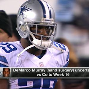 Biggest test for Dallas Cowboys running back DeMarco Murray following surgery