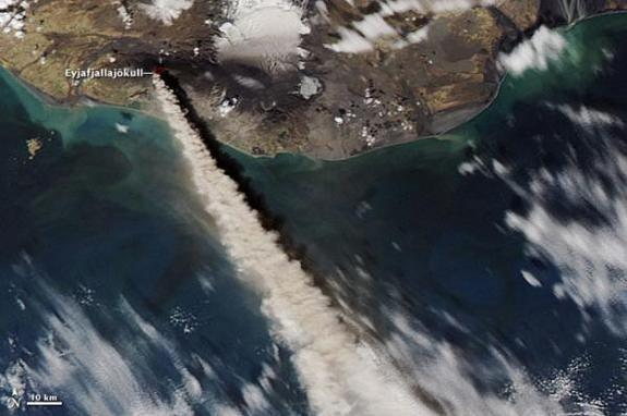 Iceland Volcano Eruption Fueled Ocean Blooms