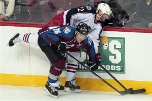 Foligno scores in OT as Blue Jackets beat Avs 4-3