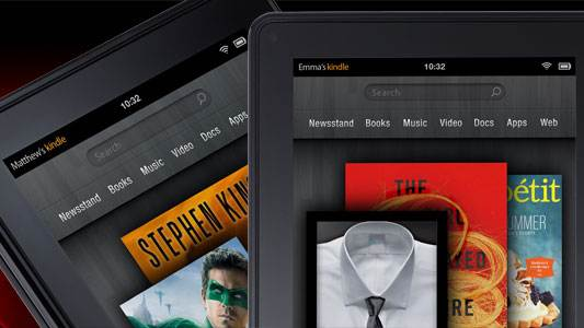 Amazon Kindle Fire set to take second in 2011 tablet race