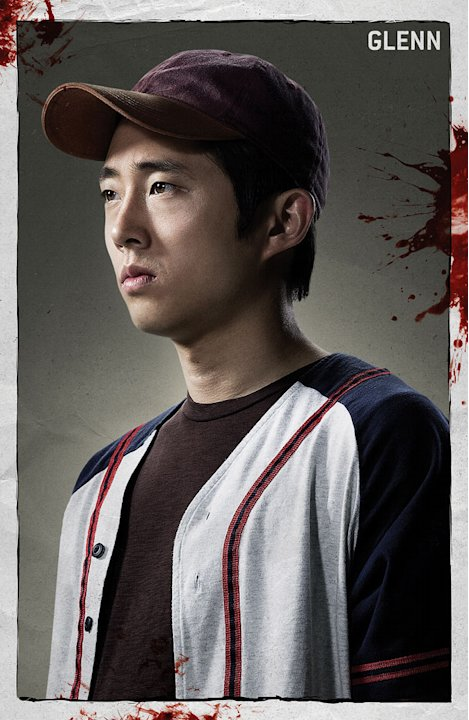 Steven Yeun stars as Glenn in &quot;The Walking Dead.&quot; 