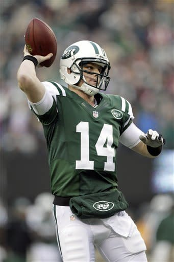 McElroy replaces Sanchez, leads Jets to 7-6 win