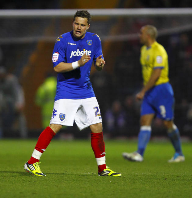 Chris Maguire scored three goals in 11 appearances for Portsmouth