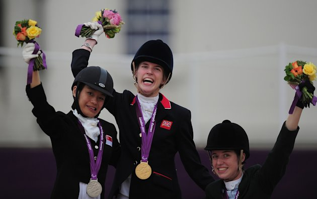 Laurentia Tan wins silver at the Paralympic Games (Getty Images)