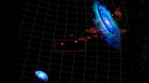 Giant Gas Clouds Found In Void Between Nearby Galaxies