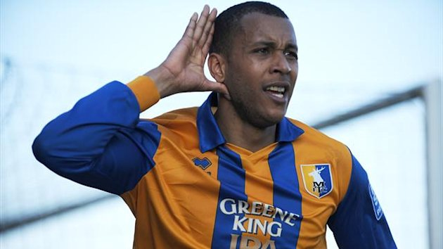 Matt Green in action for Mansfield Town (PA Photos)