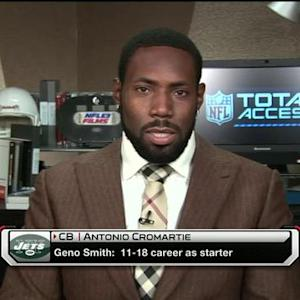 New York Jets cornerback Antonio Cromartie: Seattle Seahawks cornerback Richard Sherman is still product of system