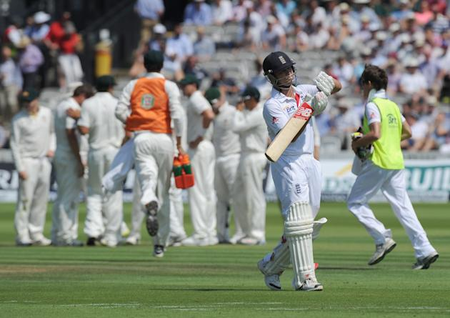Cricket - Second Investec Ashes Test - England v Australia - Day One - Lord's