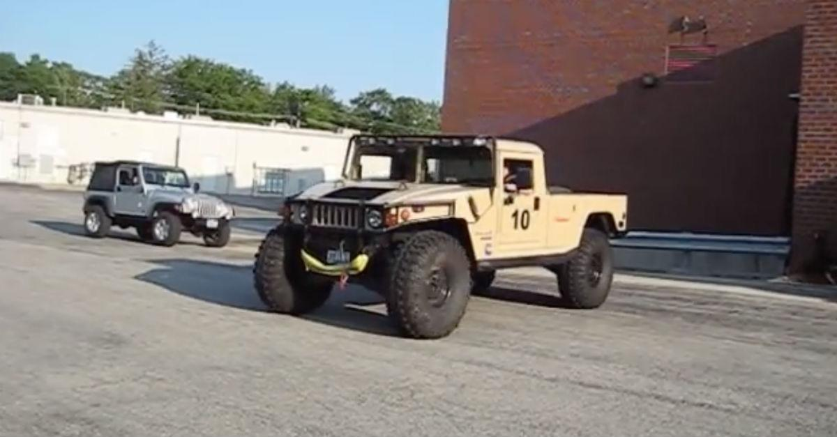 You Won't Believe What This Humvee Does Next!