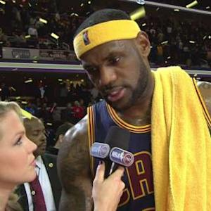 Post-Game Sound: LeBron James