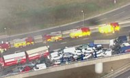 Sheppey Crash: 100 Cars Collide On Bridge