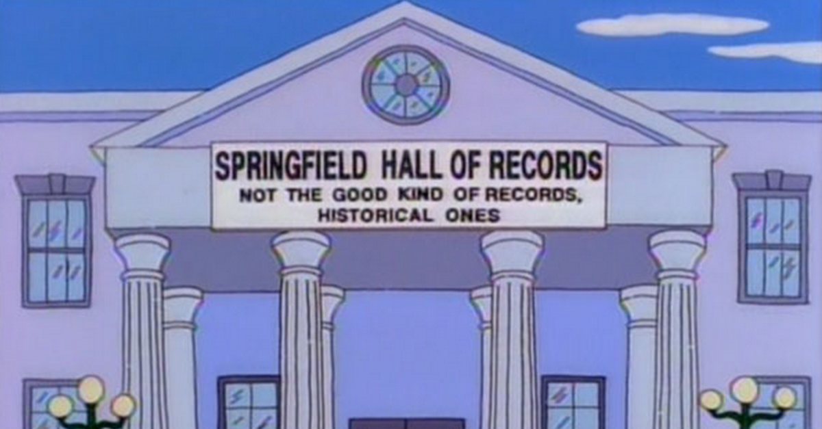 30 Genius Signs from The Simpsons