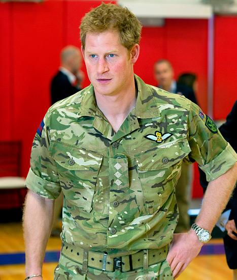 Prince Harry Qualifies as an Apache Aircraft Commander
