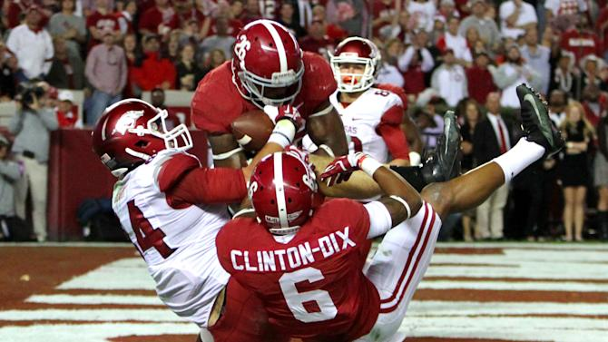No. 1 Alabama gets 1 safety back, may lose another