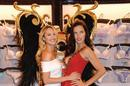 Candice Swanepoel and Adriana Lima announce the news in London