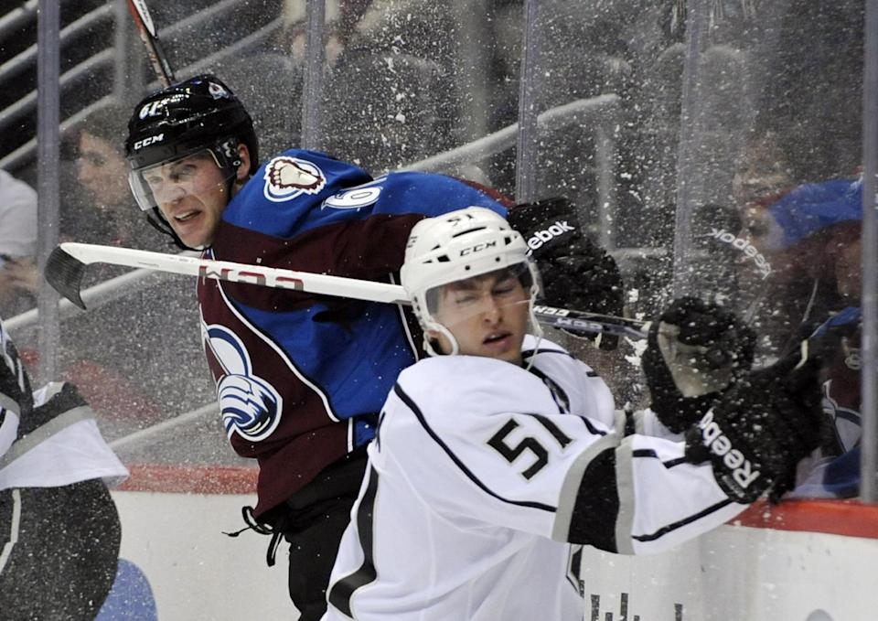 O'Reilly's OT goal lifts Avalanche past Kings 4-3