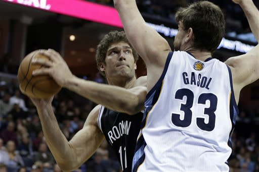 Grizzlies build early lead and defeat Nets 101-77