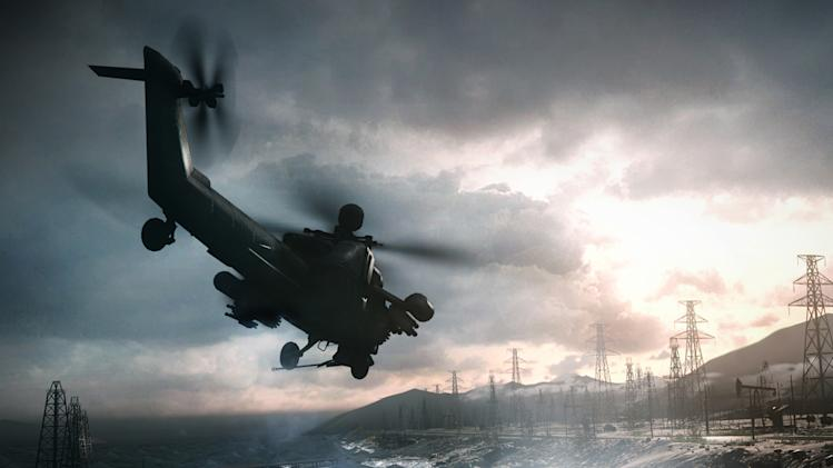 "This video game image released by Electronic Arts shows a scene from ""Battlefield 4."" (AP Photo/Electronic Arts)"
