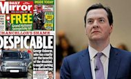 Osborne In Disabled Parking Space Storm