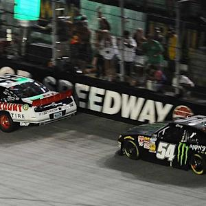 Busch frustrated with restart, finishing second