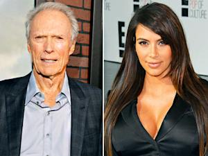 Clint Eastwood's Wife Swap; Kim Kardashian's Edgy Pregnancy Photos: Today's Top Stories
