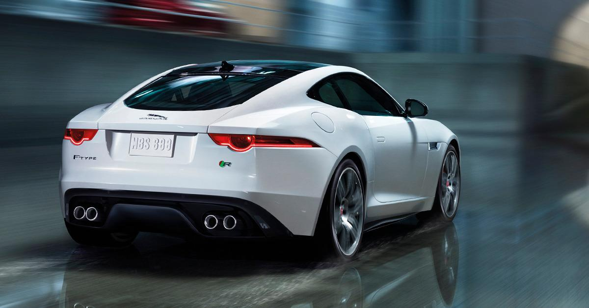 The 2015 F-TYPE V8 S.