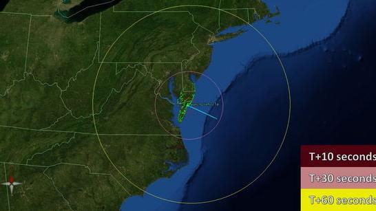 NASA Rocket to Spark Light Show Over US East Coast Tonight