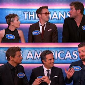 'The Avengers' Cast Plays 'Family Feud'