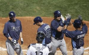Scott's slam helps Rays top Tigers 11-5