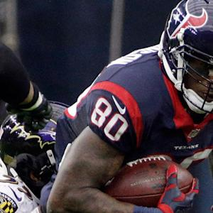 Houston Texans wide receiver Andre Johnson's milestone 1,000th career catch