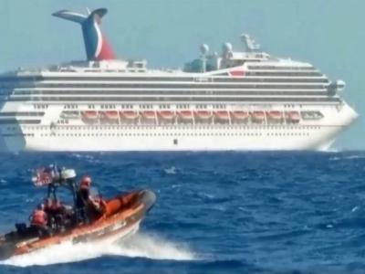 Thousands stranded on Carnival cruise ship