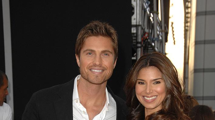 Michael Jackson's This It It LA Premiere 2009 Eric Winter Roselyn Sanchez