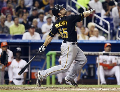 Josh Johnson pitches Marlins past Pirates 6-2