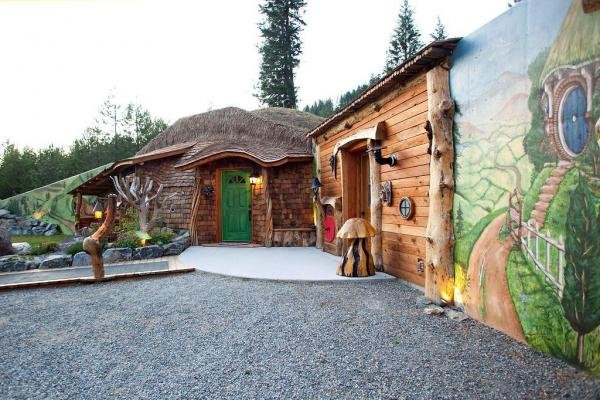 Click the photo to tour the Hobbit House and its Montana shire in a CNBC slideshow.