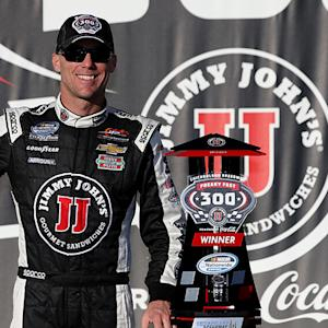 Harvick: \x{2018}Feel like I learned a lot today'